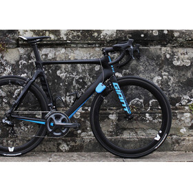 Hiplok FX Zapięcie rowerowe z reflektorem niebieski